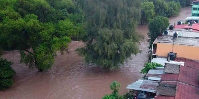 Prevén lluvias en gran parte de Oaxaca; alertan por ciclones en la costa