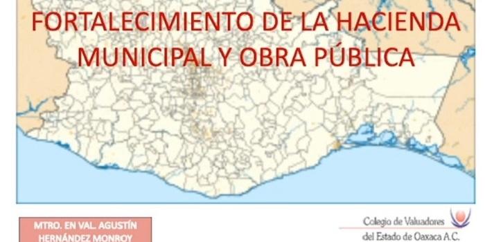 Requiere Oaxaca modernizar sistema catastral
