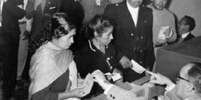 México conmemoró 65 años del voto de la mujer