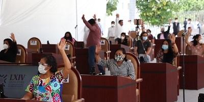 Demanda Congreso garantizar salud de trabajadores en Oaxaca durante la pandemia