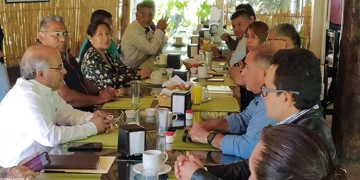 Pese a pandemia la CMIC Oaxaca avanza: Palacios Sibaja