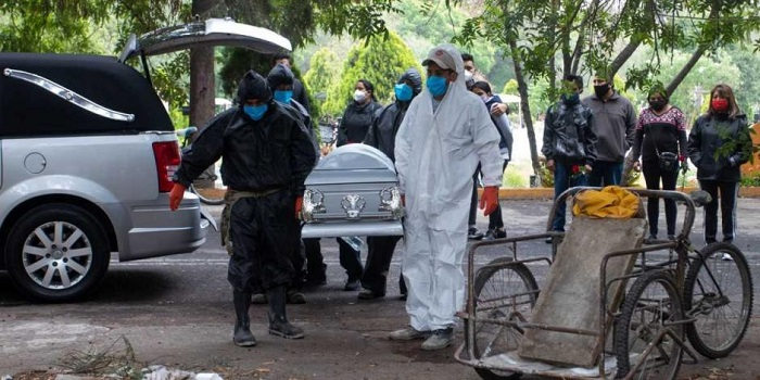 México registra 381 muertes más por COVID-19; suman 283 mil 574